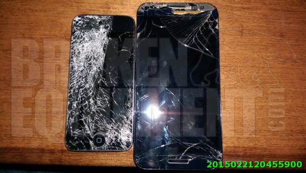 iPhone 5 and LG Optimus