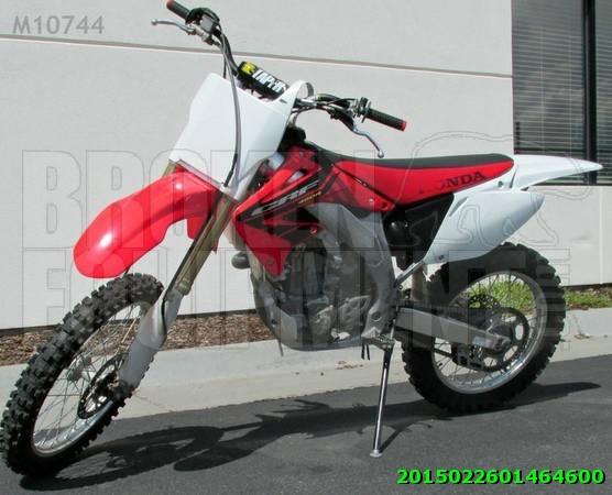2004 Honda cry 450r