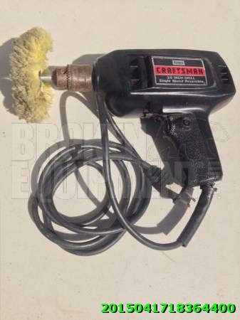 Power inch drill/polisher