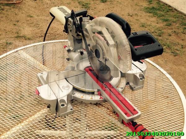 Craftsman radial miter saw