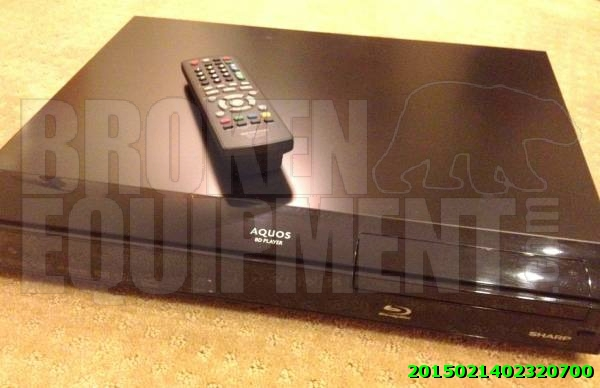 Sharp Blu Ray Disc Player